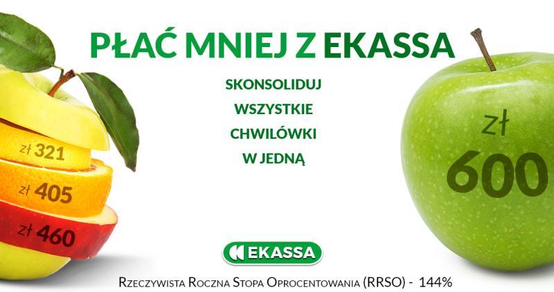 szybkie pożyczki pozabankowe online bez zaświadczeń i sprawdzania baz w Ekassa.pl